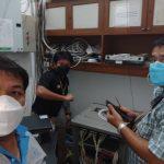 ติดตั้งอุปกรณ์ Switch ห้องดำรงธรรม ศาลาว่าการกระทรวงมหาดไทย